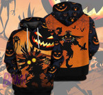 Halloween Unisex 3D All Over Print Hoodie, Zip-up Hoodie