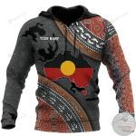 Personalized Aboriginal 3D All Over Print Hoodie, Zip-up Hoodie