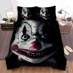 Halloween Scary Clown Face Bed Sheets Spread Duvet Cover Bedding Sets