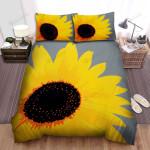 Sunflower Painting Art Close-Up Flower Bed Sheets Spread Comforter Duvet Cover Bedding Sets