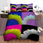 Sunflower Pop Art Bed Sheets Spread Comforter Duvet Cover Bedding Sets