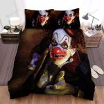 Halloween Bloody Clown With An Axe Bed Sheets Spread Duvet Cover Bedding Sets