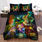 Halloween The Clown Family Artwork Bed Sheets Spread Duvet Cover Bedding Sets