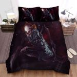 Halloween Clown With Spider Legs Artwork Bed Sheets Spread Duvet Cover Bedding Sets
