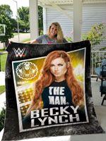 Becky Lynch Quilt Blanket Ver 1