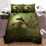 Scarecrow, Halloween, Poor Scarecrow Art Bed Sheets Spread Duvet Cover Bedding Sets