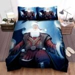 Santa Claus The Real Wizard Bed Sheets Spread Duvet Cover Bedding Sets
