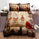 Poor Santa Claus, Retired Time Bed Sheets Spread Duvet Cover Bedding Sets