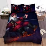 The Drunken Santa Claus Bed Sheets Spread Duvet Cover Bedding Sets