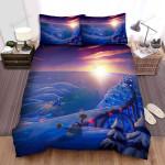 Snowman The Guilder Bed Sheets Spread Duvet Cover Bedding Sets