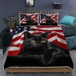 Black Cat Bed Sheets Bedspread Duvet Cover Bedding Set