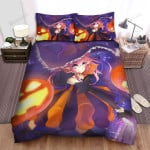 Halloween, Witch, Long Ears Witch Art Bed Sheets Spread Duvet Cover Bedding Sets
