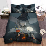 Halloween, Witch, Her Own Story Bed Sheets Spread Duvet Cover Bedding Sets
