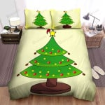 The Christmas Tree Has 3 Floors Bed Sheets Spread Duvet Cover Bedding Sets