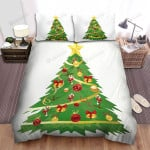 Background Christmas Tree For Christmas Bed Sheets Spread Duvet Cover Bedding Sets