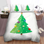 That Christmas Tree Has A Star On Peak Bed Sheets Spread Duvet Cover Bedding Sets