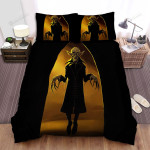Halloween Vampire Floating In The Air Bed Sheets Spread Duvet Cover Bedding Sets