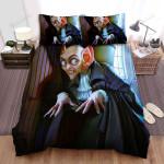 Halloween Vampire Count Dracula 3d Illustration Bed Sheets Spread Duvet Cover Bedding Sets