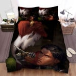 Halloween Killing The Vampire Queen Bed Sheets Spread Duvet Cover Bedding Sets