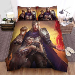 Halloween Vampire King And His Servants Bed Sheets Spread Duvet Cover Bedding Sets