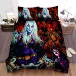 Halloween Vampire Sisters And The Demons Bed Sheets Spread Duvet Cover Bedding Sets