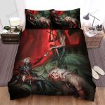 Halloween Vampire Team On The Hunt Bed Sheets Spread Duvet Cover Bedding Sets