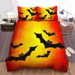 Halloween, Bat, Cover Halloween Art Bed Sheets Spread Duvet Cover Bedding Sets