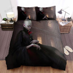 Halloween Vampire Count Dracula Portrait Painting Bed Sheets Spread Duvet Cover Bedding Sets