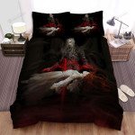 Halloween Vampire King And White Lady Bed Sheets Spread Duvet Cover Bedding Sets