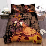 Halloween, Witch, Yummy Lollipop Art Bed Sheets Spread Duvet Cover Bedding Sets