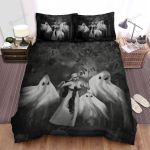 Halloween Ghosts And The Nun Bed Sheets Spread Duvet Cover Bedding Sets
