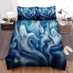 Halloween Spooky Ghosts All Over Bed Sheets Spread Duvet Cover Bedding Sets