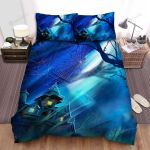 Spider, Halloween,  Hands On The Sky  Bed Sheets Spread Duvet Cover Bedding Sets