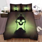 Halloween Green Skull Lantern Bed Sheets Spread Duvet Cover Bedding Sets