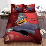 Halloween Jack-O-Lantern Pumpkin Cartoon Art Bed Sheets Spread Duvet Cover Bedding Sets