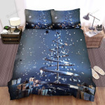 The Christmas Tree Of Metal Bed Sheets Spread Duvet Cover Bedding Sets