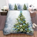 Only One Christmas Tree Has Decorations Bed Sheets Spread Duvet Cover Bedding Sets