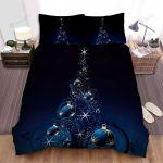 Big Balls Hang On Christmas Tree Bed Sheets Spread Duvet Cover Bedding Sets