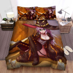 Halloween, Witch, The Beauty Is Nervous Bed Sheets Spread Duvet Cover Bedding Sets