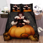 Halloween, Witch, Twin Tales Witch Bed Sheets Spread Duvet Cover Bedding Sets