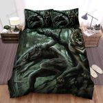 Halloween Werewolf Couples On The Hunt Bed Sheets Spread Duvet Cover Bedding Sets