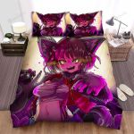 Halloween Anime Werewolf Girl Bed Sheets Spread Duvet Cover Bedding Sets