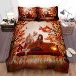 Halloween Skeleton Dating A Girl Bed Sheets Spread Duvet Cover Bedding Sets