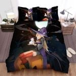 Halloween, Witch, Sparkle Dust Of Her Bed Sheets Spread Duvet Cover Bedding Sets