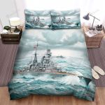 Frigate, The Nazi Ship Bed Sheets Spread Duvet Cover Bedding Sets