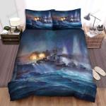 Frigate, Artwork The Battle Ship Bed Sheets Spread Duvet Cover Bedding Sets