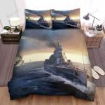 Frigate, Navy Legion Art Bed Sheets Spread Duvet Cover Bedding Sets