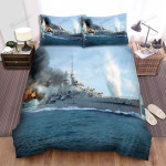 Frigate, English Navy Art Bed Sheets Spread Duvet Cover Bedding Sets