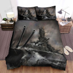 Frigate, Cannon Of The Ship Bed Sheets Spread Duvet Cover Bedding Sets