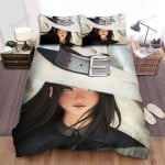 Halloween, Witch, Beautiful Eyes Of Witch Bed Sheets Spread Duvet Cover Bedding Sets